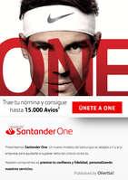 Ofertas de Santander, SantanderOne