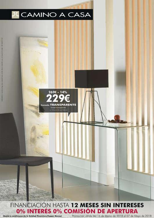 Comprar recibidores ofertas y tiendas ofertia for Muebles camino a casa catalogo