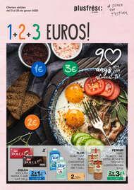 1 2 3 Euros