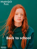 Ofertas de Mango Kids, Back to school