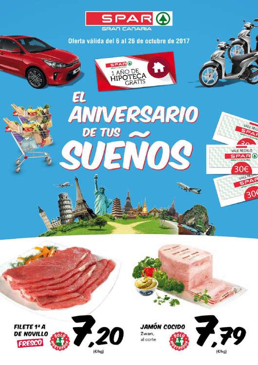 Ofertas de SPAR Gran Canaria, El aniversario de tus sueños