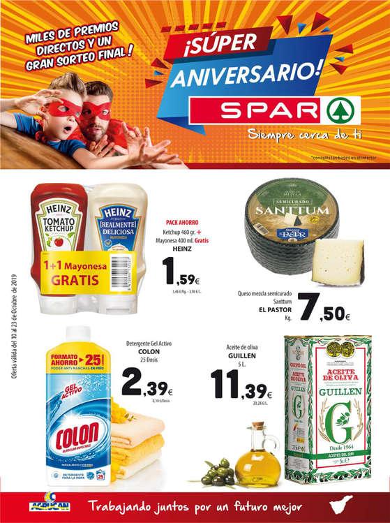 Ofertas de Spar Tenerife, ¡Súper Aniversario!