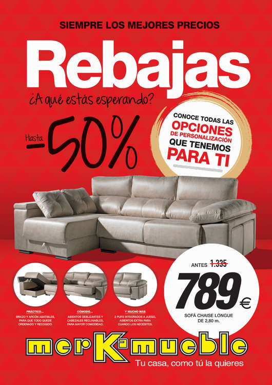 Merkamueble ofertas cat logo y folletos ofertia - Merkamueble cocinas catalogo ...