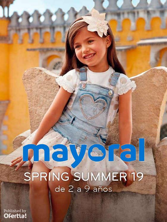 Ofertas de Mayoral, Spring Summer 19. De 2 a 9 años