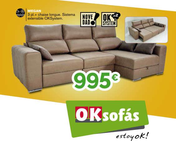 Ofertas de OKSofas, Oferta del mes