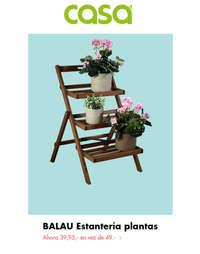 Estantería plantas BALAU