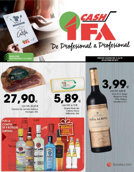 Ofertas de Cash Ifa, De profesional a profesional