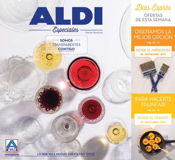 Ofertas de ALDI, Somos transparentes contigo