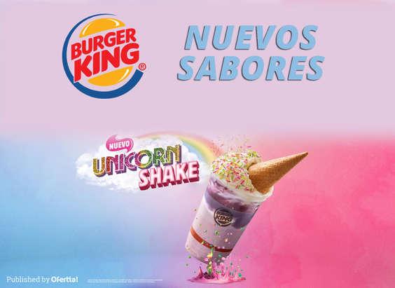 Ofertas de Burger King, Nuevos Sabores