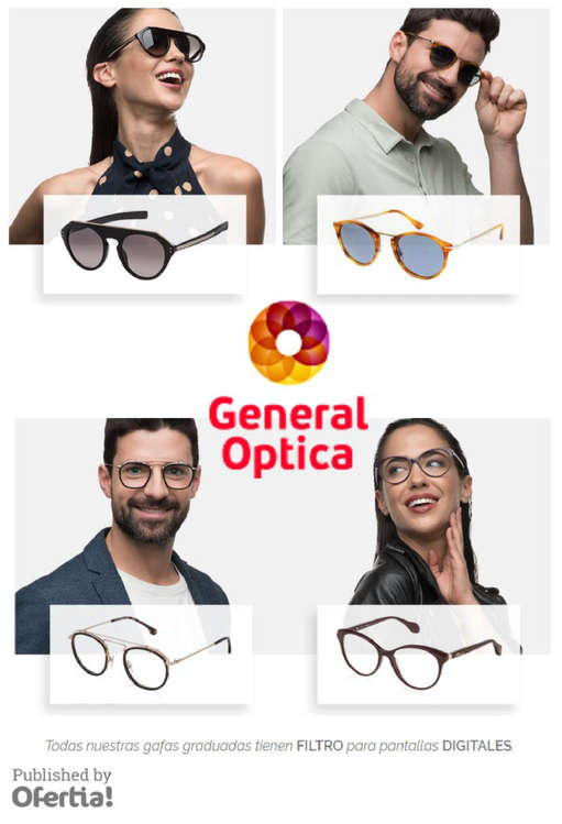 Ofertas de General Óptica, Gafas