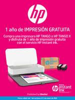 Ofertas de HP, 1 año de impresión gratuita