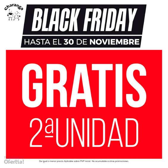 Ofertas de Charanga, Black Friday. 2ª unidad gratis