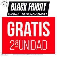 Black Friday. 2ª unidad gratis