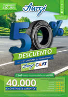 Ofertas de Aurgi, 50% de descuento en la 2ª unidad de neumáticos* Aurgi Ceat
