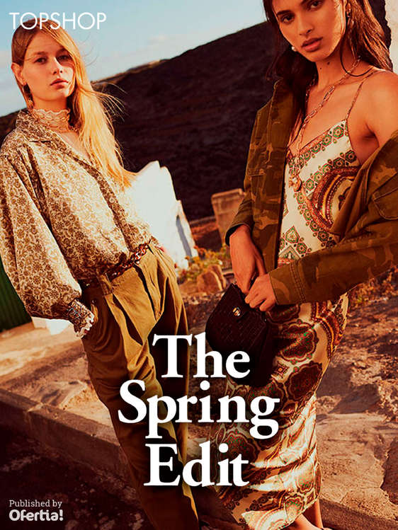 Ofertas de Topshop, The Spring Edit
