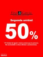 Ofertas de Joyería Fina García, Segunda Unidad 50%