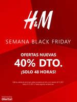 Ofertas de H&M, Semana Black Friday - Ofertas nuevas