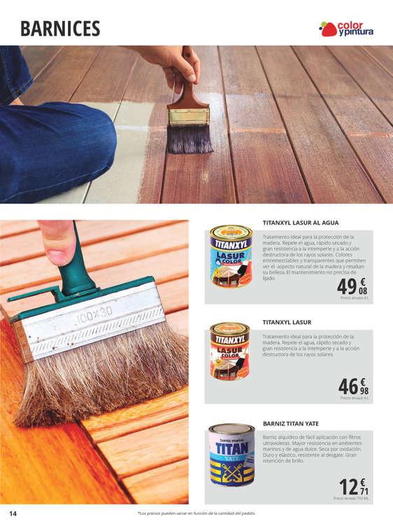 Comprar barniz para madera barato en getafe ofertia - Barniz para madera ...