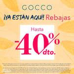 Ofertas de GOCCO, Rebajas hasta -40%