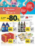 Ofertas de Eroski, - 2a unitat fins al -80% -