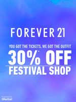Ofertas de Forever 21, Festival Shop  -30% off