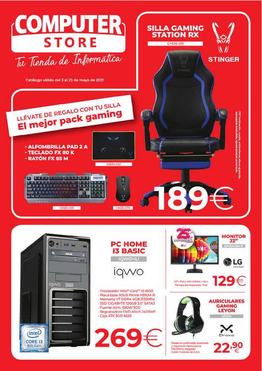 Ofertas de Computer Store, Ofertas Mayo 2021