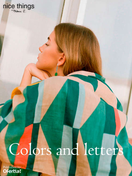 Ofertas de Nice Things, Colors and letters