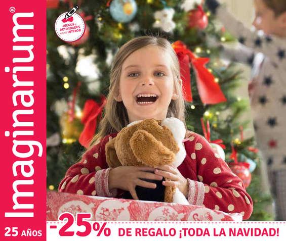 Ofertas de Imaginarium, -25% de regalo ¡toda la Navidad!