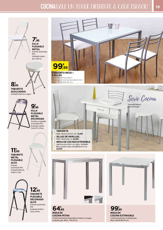 Comprar mesas de cocina barato en valladolid ofertia - Oferta mesa cocina ...
