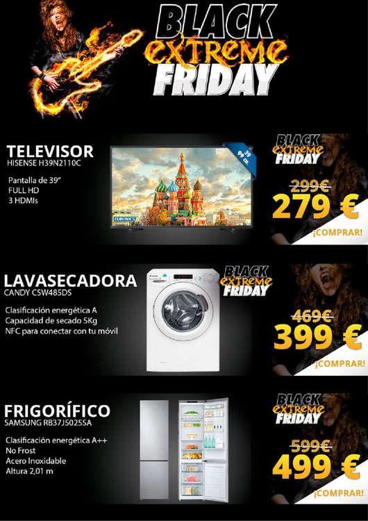 Ofertas de Euronics, Black Extreme Friday