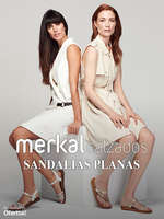 Ofertas de Merkal, Sandalias planas