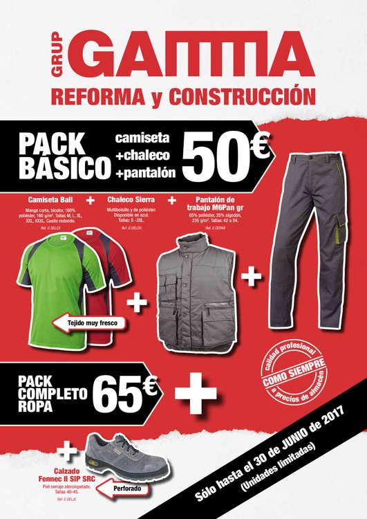 Ofertas de Gamma, Reforma y construcción