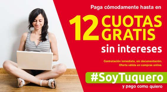 Ofertas de Tuco, Paga cómodamenta hasta en 12 cuotas