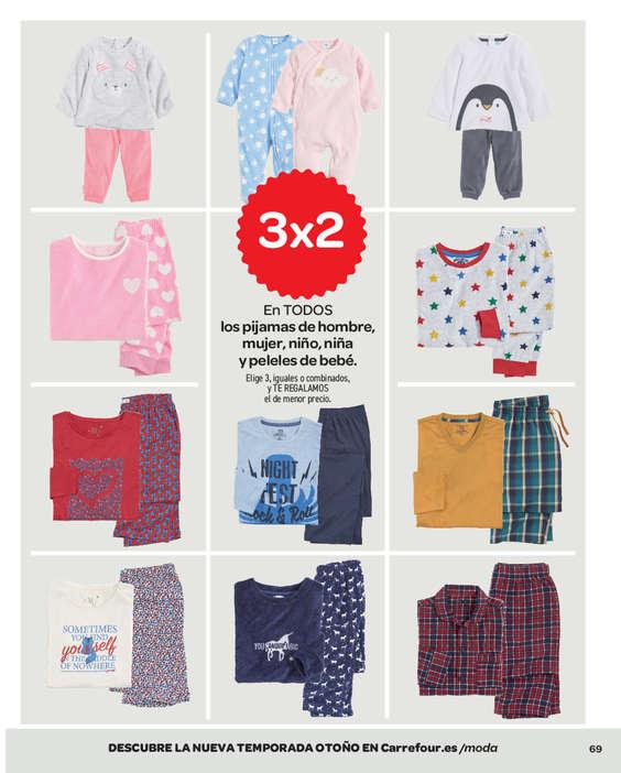 pensamientos sobre varios colores mayor descuento gran descuento nueva alta calidad vendible pijamas carrefour 3x2 ...