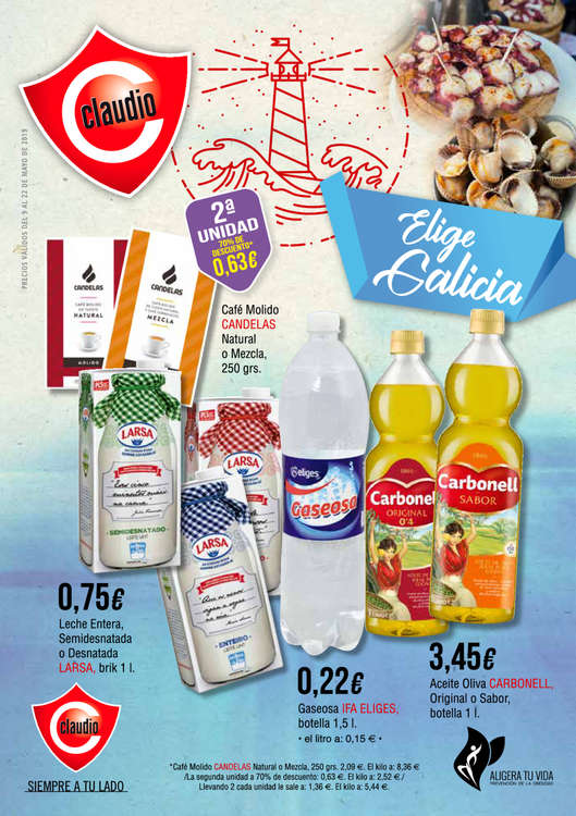 Ofertas de Claudio, Elige Galicia