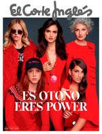 Ofertas de El Corte Inglés, Es otoño, eres power