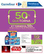 Ofertas de Carrefour, Et tornem el 50%