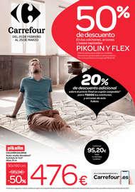 50% de descuento en todos los colchones, arcones y bases tapizadas PIKOLIN y FLEX