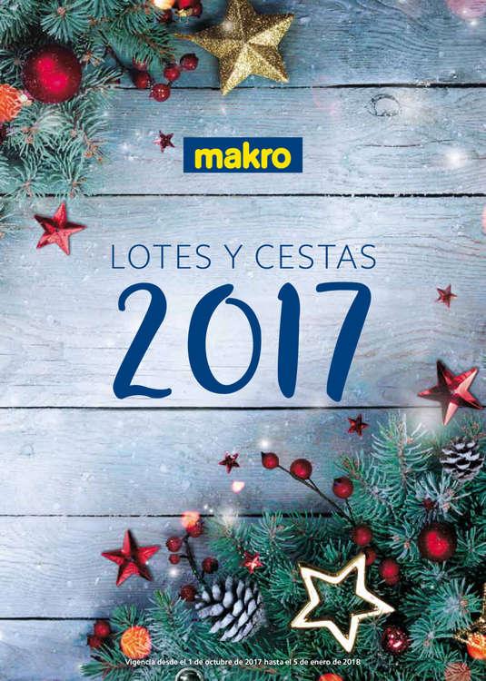 Ofertas de Makro, Lotes y cestas 2017