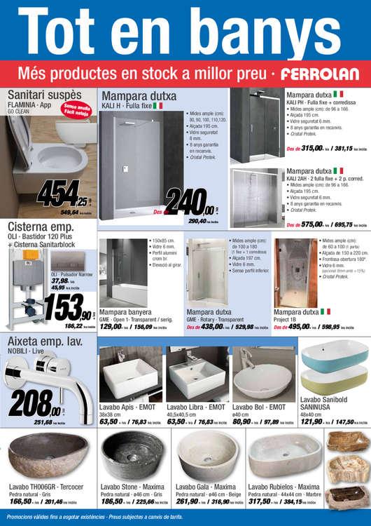 Ferrolan ofertas cat logo y folletos ofertia for Piscinas aki catalogo
