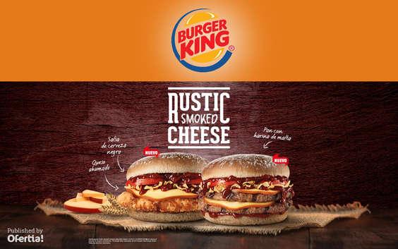 Ofertas de Burger King, Rustic Smoked Cheese