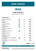 Ofertas de Soltour, Super ofertas a Ibiza