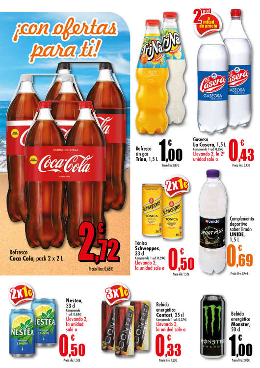 Ofertas de Supermercados Unide, El verano ya está aquí