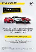 Ofertas de Opel, 1.500€ de descuento adicional en tu seminuevo - Autoleben