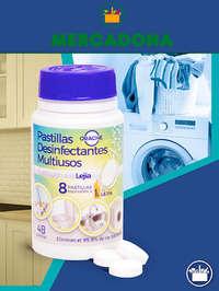 Pastillas Desinfectantes Multiusos