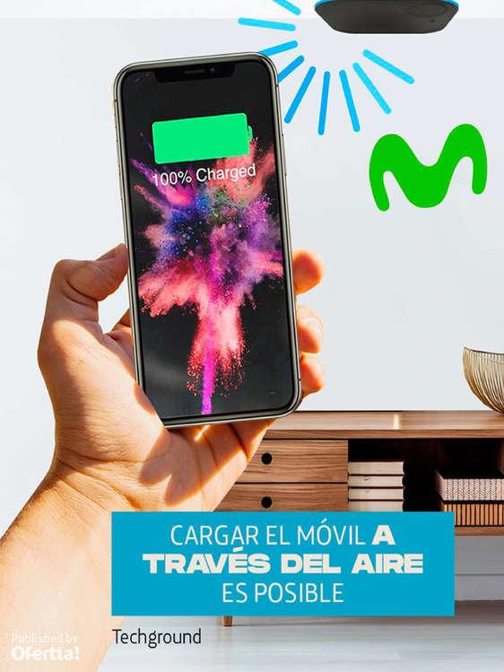 Ofertas de Movistar, Cargar el móvil a través del aire