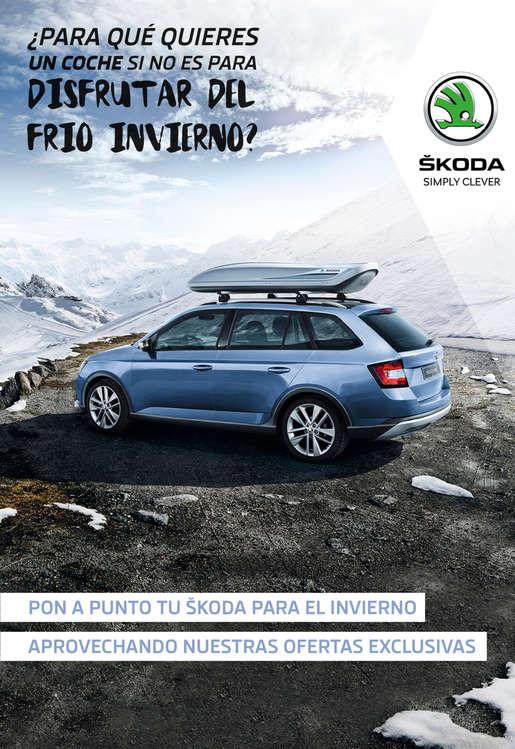 Ofertas de SKODA, ¿Para qué quieres un coche si no es para disfrutar del frío Invierno?