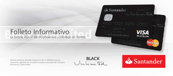 Ofertas de Santander, Black Unlimited