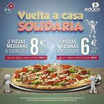 Ofertas de Domino's Pizza, Vuelta a casa solidaria