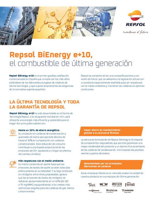 Ofertas de Repsol, Repsol BiEnergy e+10